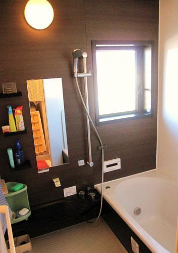 大人な雰囲気の浴室