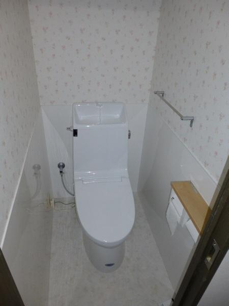 エコにもこだわるトイレ