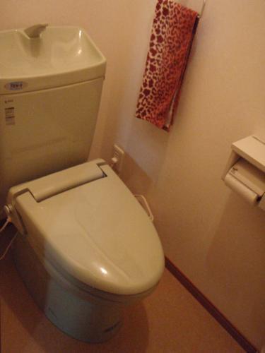 明るい雰囲気のトイレに