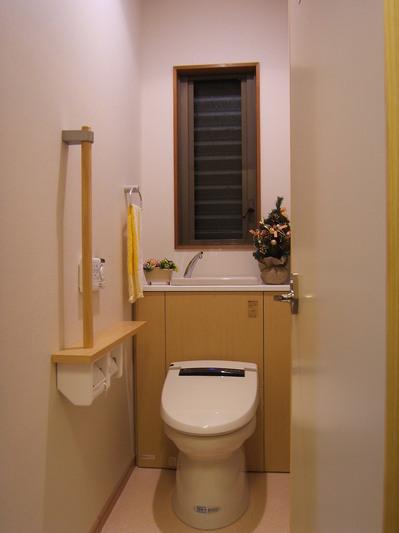 清潔感あるすっきりとしたトイレ