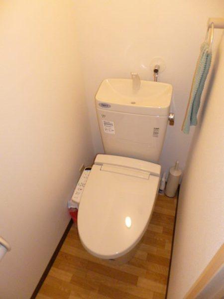 広々トイレ空間