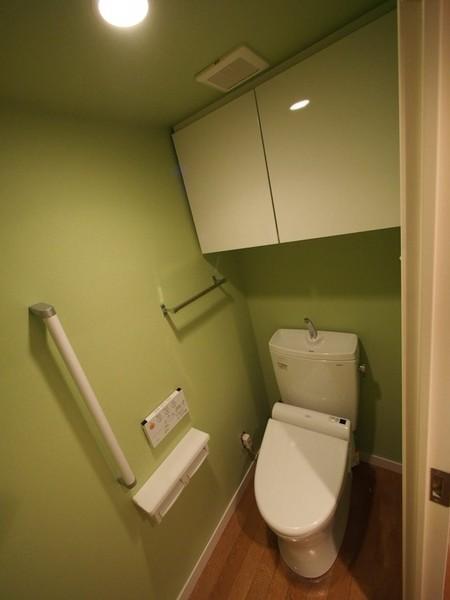 癒しのトイレ空間に