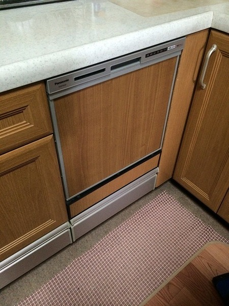 統一感を壊さない食器洗い乾燥機の交換