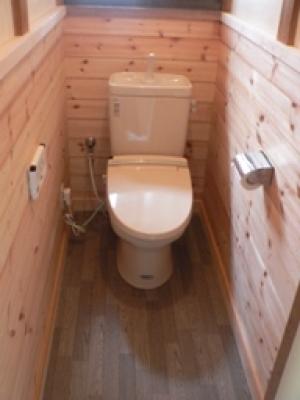 キレイで落ち着けるトイレに
