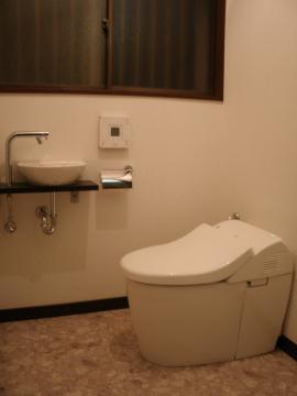 ファッショナブルなトイレ