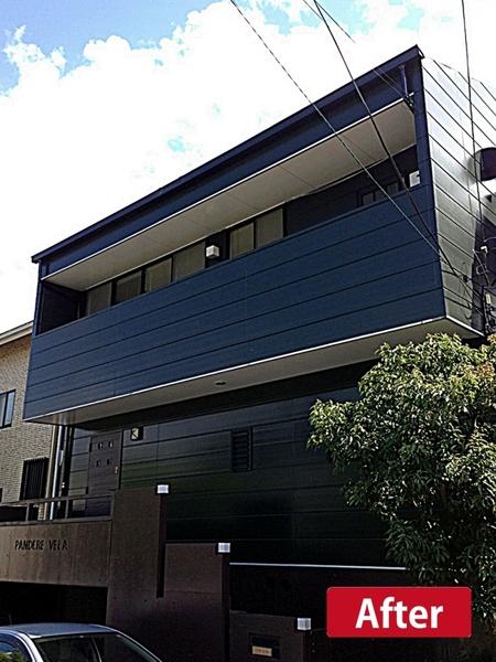 耐久性、遮熱性に優れた外壁塗料