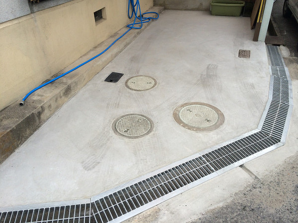 コンクリート打ち替え工事