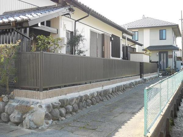 垣根からフェンスへ