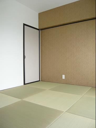 モダンな畳のおしゃれ和室