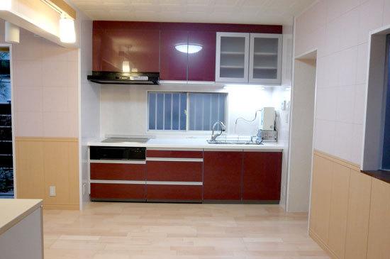 空間を広げるキッチンリフォーム