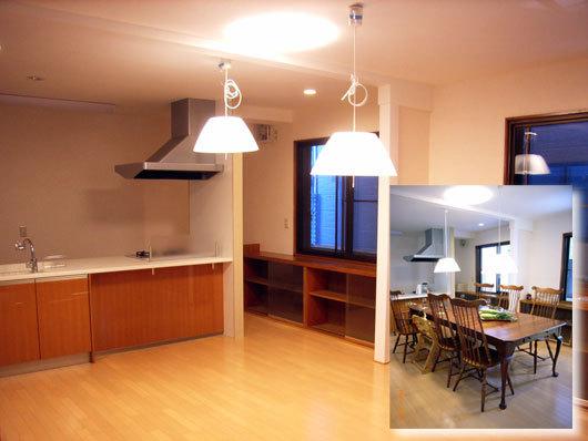日当たりの良い開放的なキッチンにリフォーム