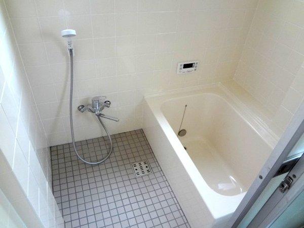 明るくなった浴室