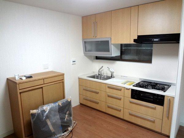 収納が増えスッキリとしたキッチン