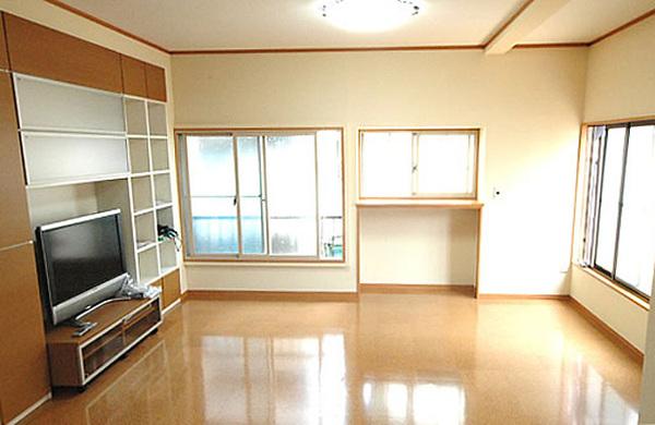 賃貸用のアパート2階を息子夫婦の住まいへ