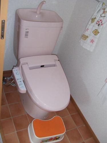 念願のウォシュレット付きトイレで快適に