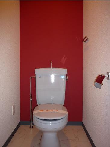 情熱の赤いトイレ