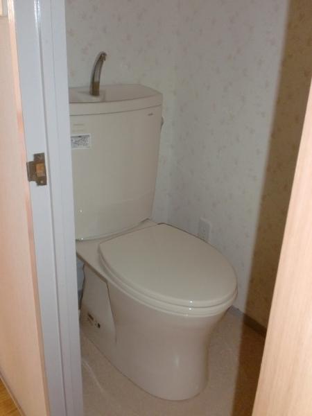 清潔なトイレになりました