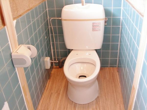水洗式になったトイレ