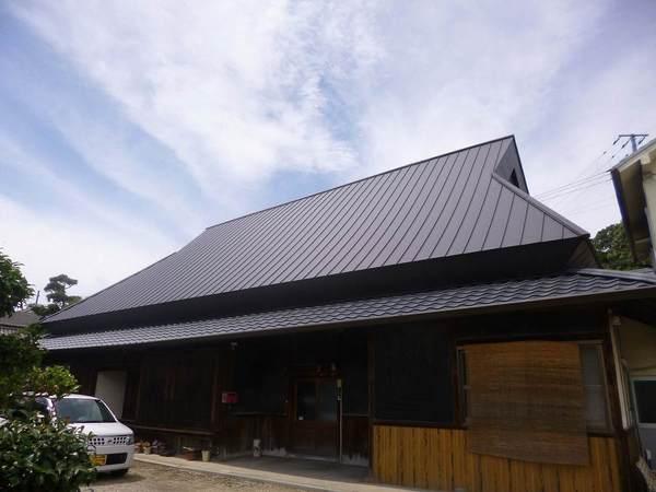 5.築100年の萱葺き屋根葺き替え工事