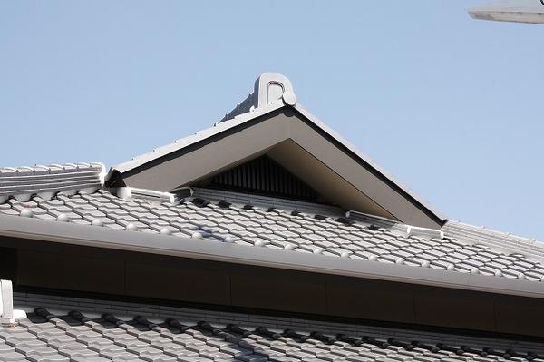 淡路瓦の屋根