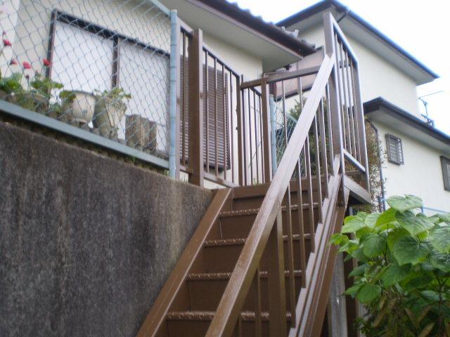 安心して使える階段に