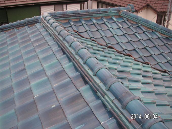 K様邸、屋根葺替え工事
