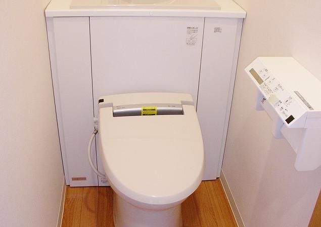 清潔感あふれるトイレ