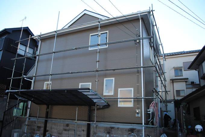 56万円でシリコン塗装の家