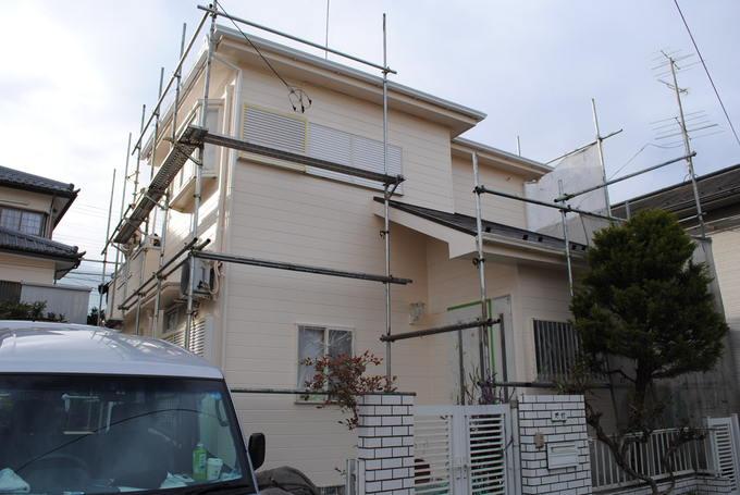 外壁・屋根遮熱塗装が68万円で塗装出来ます。