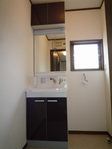 洗面化粧台の交換・クリナップファンシオ