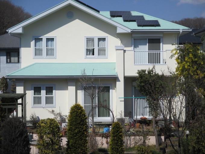 鳩山町 S様邸 機能性環境改善塗材 「ガイナ」