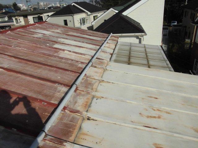 トタン屋根重ね葺き
