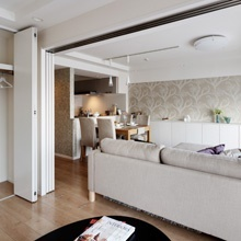 既存の和室を、将来個室としても使える洋室に変更