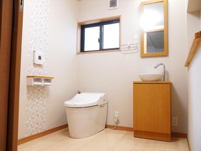 サラサラ空気のトイレ