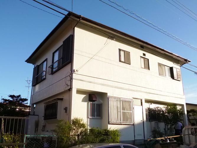 戸建の外壁屋根を塗装でリフレッシュ106万円!
