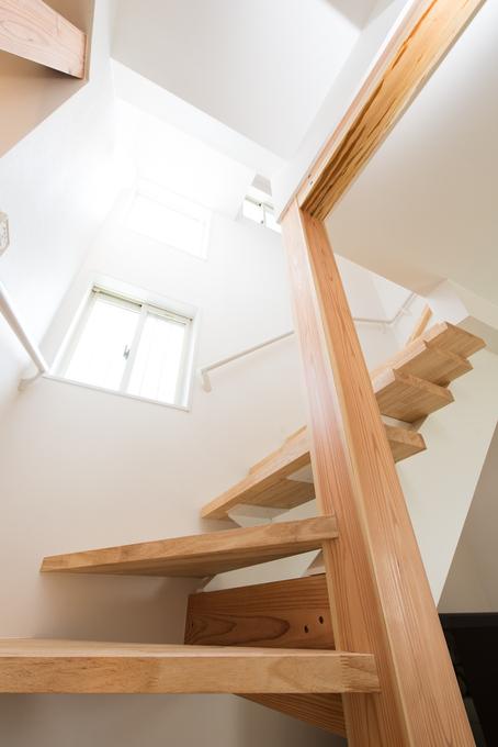 玄関、階段