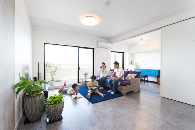 ご家族の生活スタイルに合わせて、中古マンションを全面改装