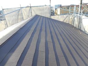 暑さ対策を兼ねた屋根塗装
