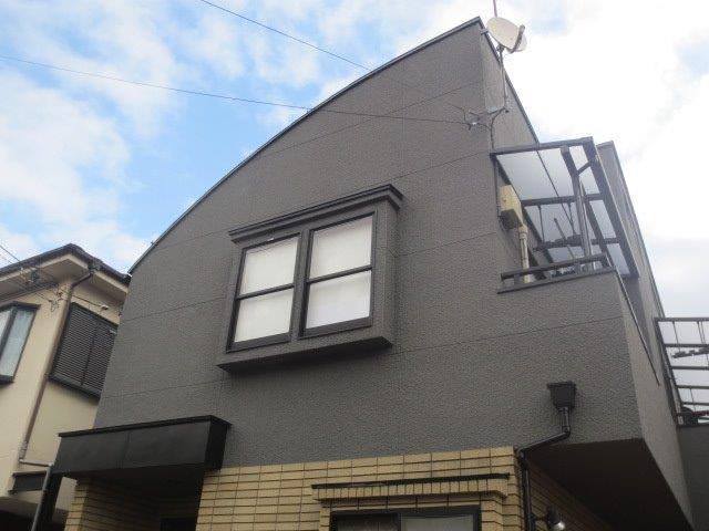 屋根ガイナ塗装/バルコニー ルーフ設置工事