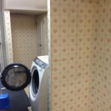大迫力!洗面台二台設置