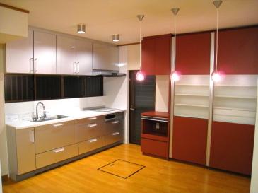 二世帯住宅向けみんなが楽しいキッチン