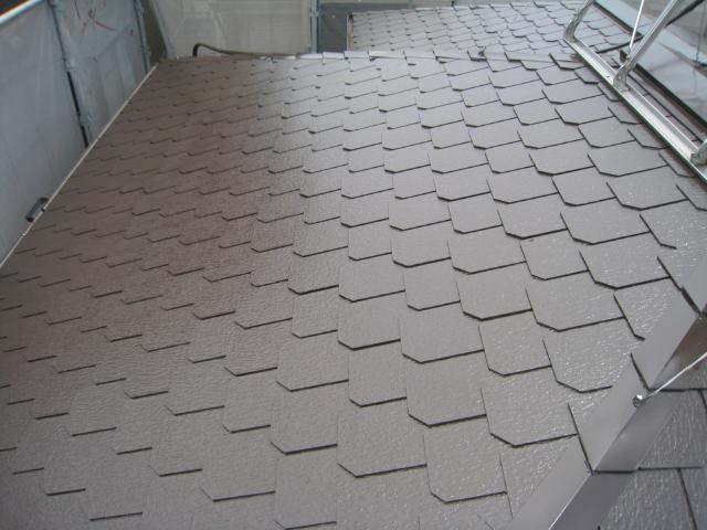 三島市 Ⅰ様邸 屋根塗装リフォーム事例