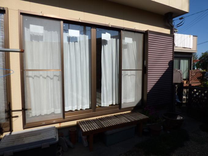 窓の断熱工事