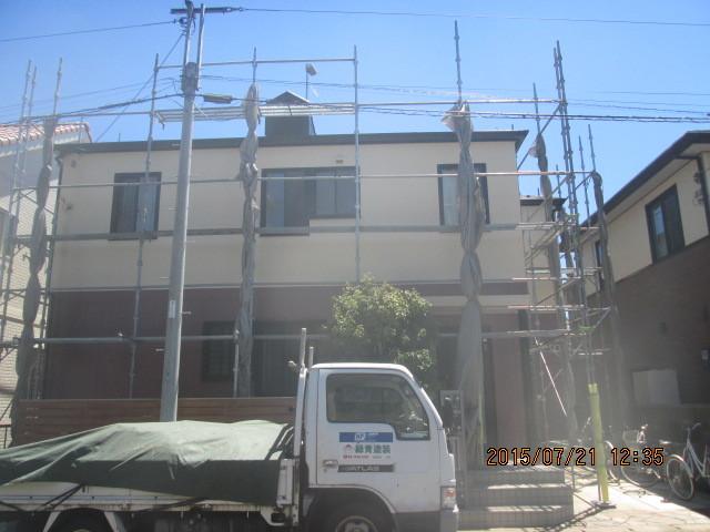 外壁塗装(千葉県千葉市)