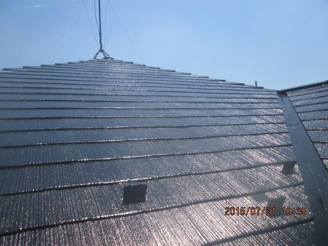 屋根塗装(千葉県千葉市)