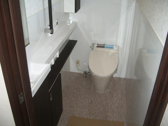超節水トイレ