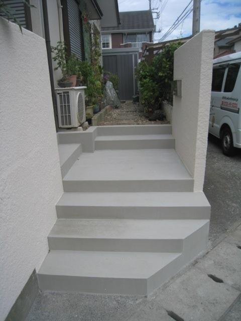 三島市 K様邸 外階段リフォーム事例