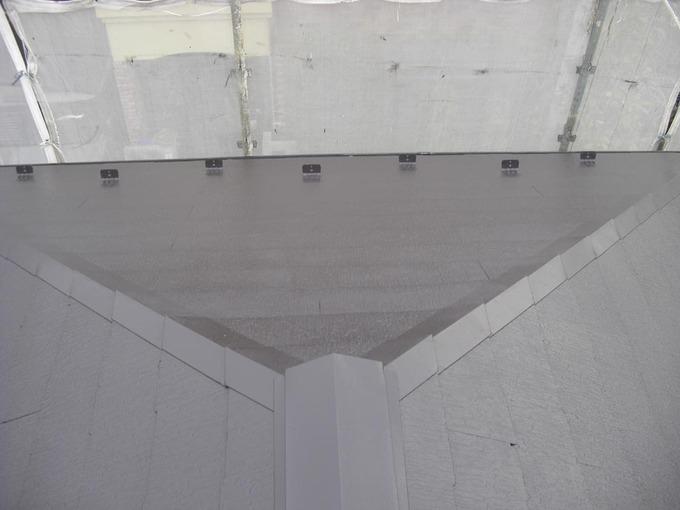 屋根を遮熱塗料で塗装し2階も涼しく
