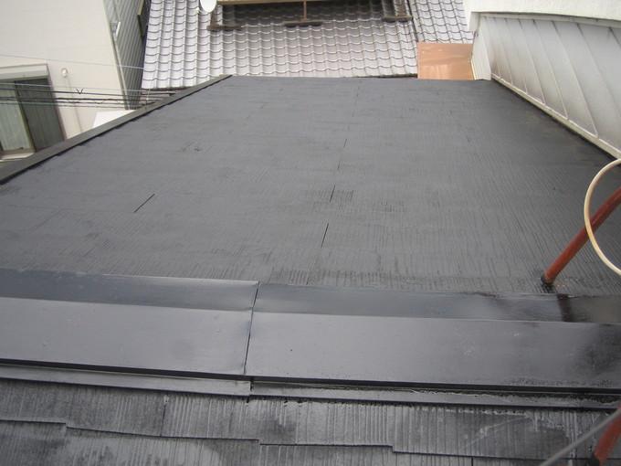太陽光発電システム設置にあわせて補修・塗装!