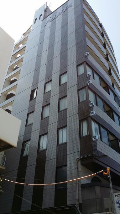 ビジネスホテル外壁塗装工事